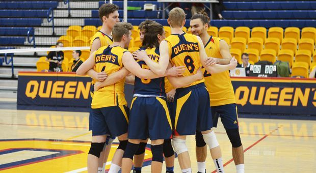 Men's volleyball beat first-ranked McMaster over the weekend.