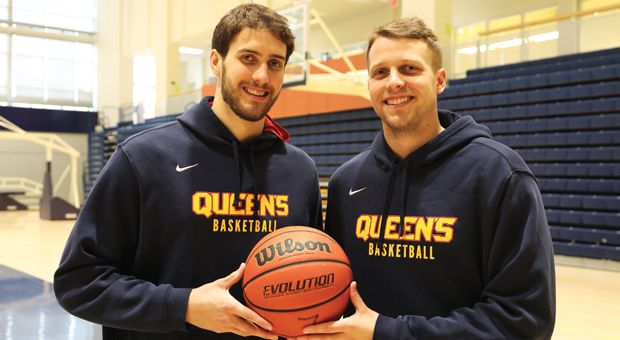 Tanner (left) and Jesse (right) Graham have played for the Gaels for five seasons.
