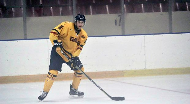 Defenceman Nevin Guy currently has 10 points on the season—three behind team-leader and captain Spencer Abraham.
