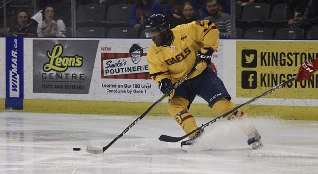 Forward Jaden Lindo scored the game-winning goal in overtime on Thursday night.