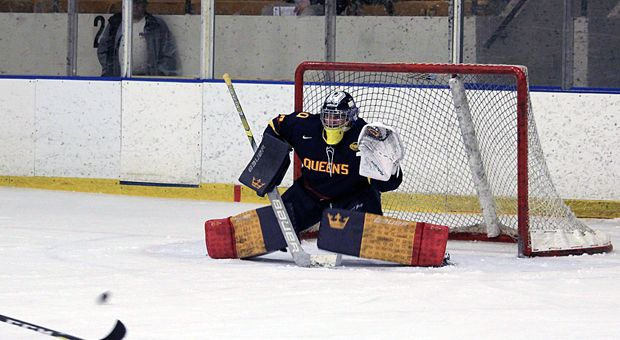 The men's hockey team was knocked out of the U Sports Championship with a 5-3 loss to St. FX.