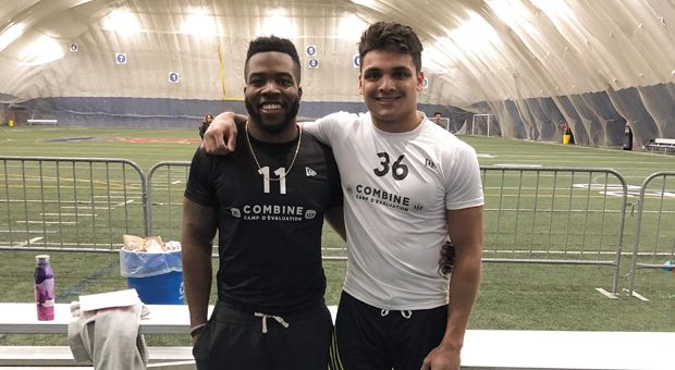 Marquis Richards (left) and Ejaz Causer (right).