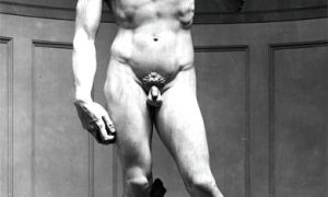 """Michelangelo's David is one of the earliest representations of pubic hair in art. The famous statue has also inspired a popular below-the-belt hairstyle, known in Britain as """"the David."""""""