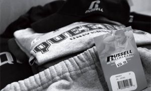 Queen's signed a three-year contract with Russell Athletics last May, making it the University's sole supplier of athletic apparel.