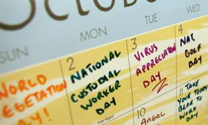 With so many groups claiming calendar dates and lobbying for their causes, the significance of the day loses all meaning.