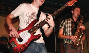 Bryce Daigle of Living Planet, Fat Robot and Average Lime.