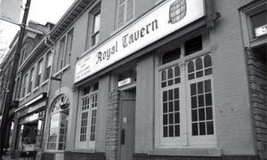 If you listen closely at the Royal Tavern, you can hear John A. Macdonald delivering one of his political speeches.