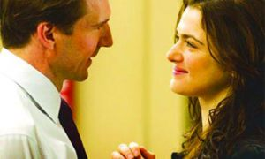 Ralph Fiennes and Rachel Weisz heat up the screen as husband and wife in Gardener.