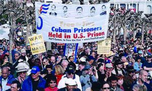 Free the Five supporters have participated in rallies in Cuba, the United States and Canada.