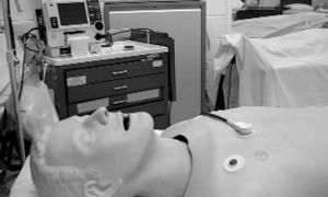 Mannequins are a part of the new labs for nursing students.
