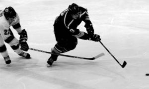 Men's hockey earned their first win of the season against Laurier on Saturday.