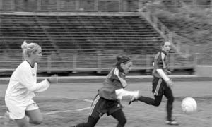 Women's soccer suffered their only loss of the season in the semifinals, but earned the bronze.