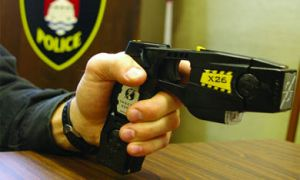 This week, Kingston police received the 30 new Tasers they requested after Homecoming.