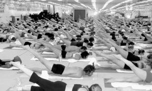 If you're not busy getting busy on Valentine's Day, try Bikram yoga for a change of pace.