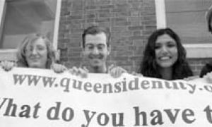 The organizers of a symposium on Queen's identity have received $2,000 from the University to help fund the project.