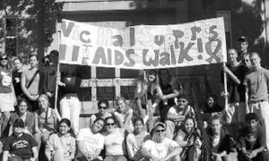The AIDS/HIV walk raised $3,000 this past Sunday.
