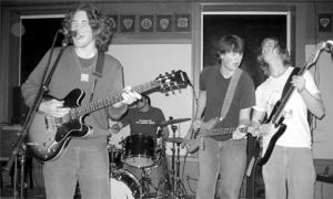 The Jack Kerouac Knapsack Band during their first place performance at the QEA Battle of the Bands 2004.