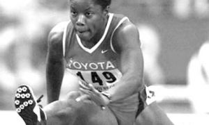 Perdita Felicien is one of Canada's leading gold medal hopefuls for the summer games.
