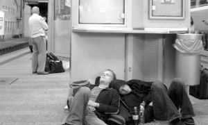 Your backpack might hold all your earthly belongings, but it can also double as a pillow when waiting for the next train to Munich.