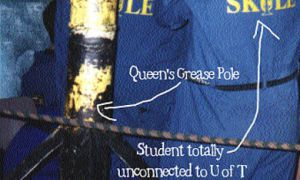 Brute Force Committee members have set up a website detailing the September 9 theft of the grease pole.
