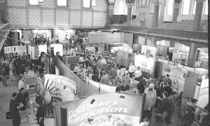 Over 40 businesses attended the 21st annual career fair held earlier this week in Grant Hall.
