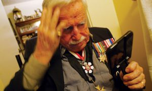 Veteran John Ross Matheson fought in World War Two after graduating from Queen's in 1940.