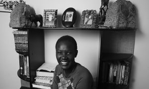 Agot Thon, Nurs '08, came to Queen's from a refugee camp in Kenya through the Student Refugee Program.