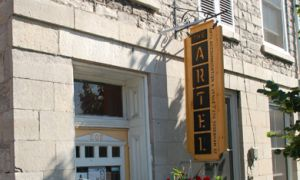 The Artel is home to an eclectic mix of visual art and concerts.