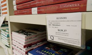 Textbook costs have increased at 278 per cent of the rate of inflation over the past 12 years.
