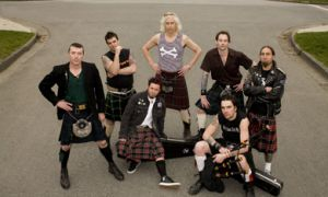 Popular in Germany and Newfoundland, The Real McKenzies have been around for 16 years.