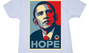 The Obama/Biden and McCain/Palin merchandise runs the gamut from serious to saucy, trucker hats to T-shirts.