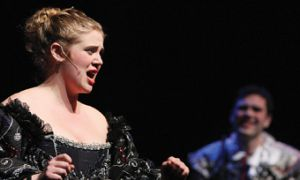 Beth Egnatoff brings Queen Dido to life and death.