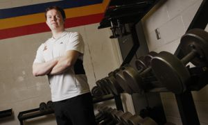 Rodney Wilson became Queen's first full-time strength and conditioning coach this year.