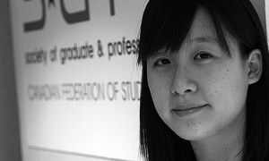 Vicky Bae, ArtSci '06 and '07 and MSc '10, was elected SGPS president for the remainder of 2009-10.
