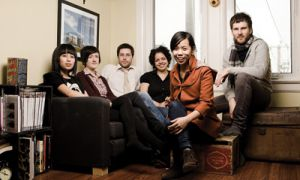 Ohbijou have become known for their musical home in the Trinity Bellwoods neighbourhood in Toronto.