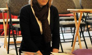 Journal Features Editor Emily Davies at the Kuluta Buddhist Centre on Wellington St.