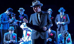 Drew Moore, Artsci '11, stars in Blue Canoe's production of Guys and Dolls at The Firehall Theatre, 1000 Islands Playhouse in Gananoque. Bus trips are avalible tonight and April 1. Tickets are $18 and are available at Destinations.