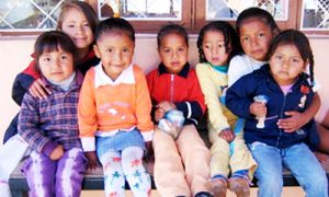The ALDEA daycare centre was one of the facilities DEVS '09 Seetha Ramanathan volunteered at t in Quito, Ecuador as part of DEVS 410 World Study Placement course.