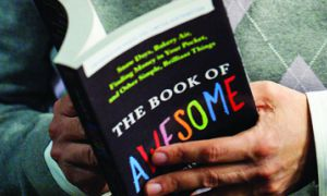 Neil Pasricha, author of The Book of Awesome, says he's gotten notes from people worldwide who are inspired by the book.