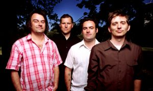 John K. Samson (far right) said even though The Weakerthans are on a bit of a hiatus while focusing on solo projects, they relish in taking part in summer music festivals like Wolfe Island's for a chance to reconnect, rekindle and remember the songs.