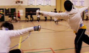 The Queen's fencing team has high hopes for next year. The OUA banner is within their grasp as long as they can hold off rival schools; the University of Toronto, Royal Military College and defending champions Carleton University.