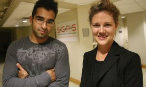 International Student Coordinators Amir Nosrat and Becky Pero want to increase the SGPS's communication and engagement with International students on campus.