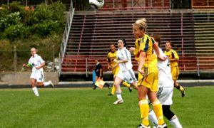 Women's soccer home-opener against the Trent Excalibur resulted in 9 goals for the home side. The women's team is travelling to Toronto to take on the University of Toronto and Ryerson University this weekend.