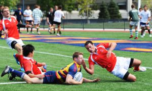 This year's Gaels dominate the McGill Redmen in pre-seaon action at Tindall Field on Sept. 5.