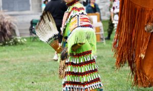 The fourth annual educational powwow, held on Sat. 25, showcases Aboriginal people's talent and culture.