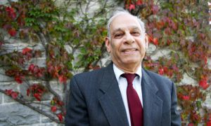 Mohamed Bayoumi, professor emeritus of electrical and computer engineering, has been involved with Islamic History Month since its creation in 2007.