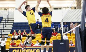 The Gaels lost all three games over the weekend in the Annual Queen's Men's Volleyball Inivtational hosted at the ARC.