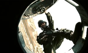 Lebanon's claustrophobic effect is acheived by filming from the perspective of a gun.