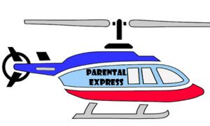 According to a recent study at Keene State College, five per cent of males and 13 per cent of females of 300 students polled could classify as children of helicopter parents.