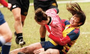 The OUA Finals for women's rugby took place at Kingston Field Saturday. The Gaels won silver after being defeated by the Guelph Gryphons 54-5. Queen's advances to the CIS championship.